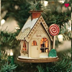 Buy Goody Gum Drops Ginger Cottage from OrnamentPlus Personalized Christmas Ornaments Shop