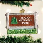 Buy Acadia National Park Blown Glass Ornament from OrnamentPlus Personalized Christmas Ornaments Shop