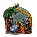 Buy Nativity Blown Glass Ornament from OrnamentPlus Personalized Christmas Ornaments Shop